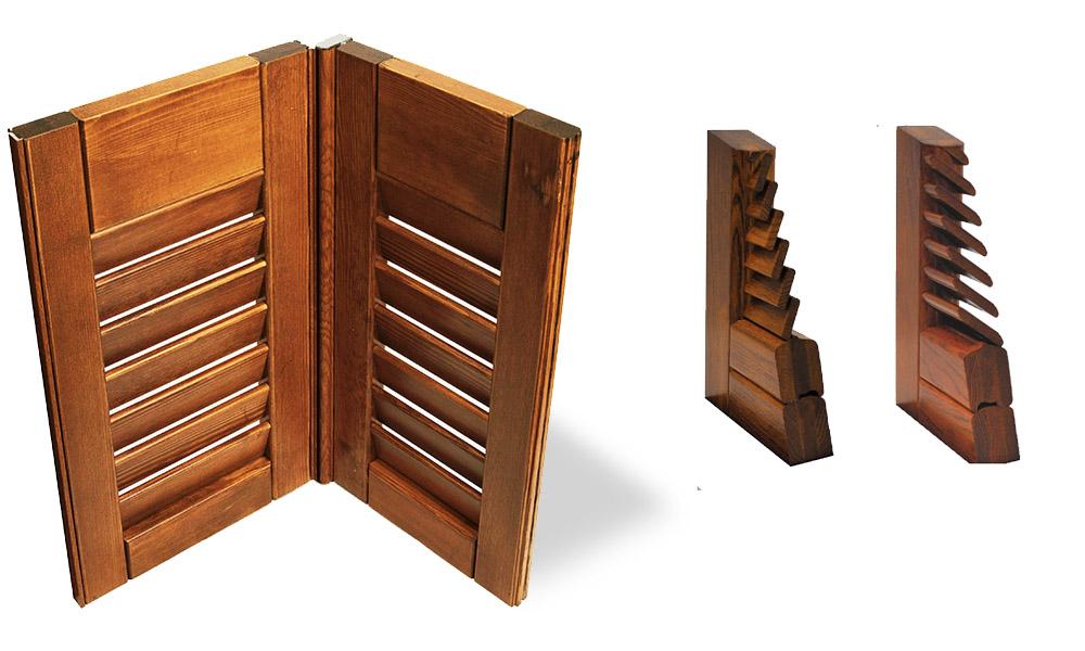Realizzazione persiane in legno Bergamo