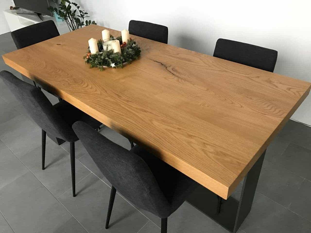 Realizzazione tavoli su misura in legno bergamo for Tavoli estensibili in legno