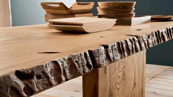 vendita tavoli in legno su misura bergamo
