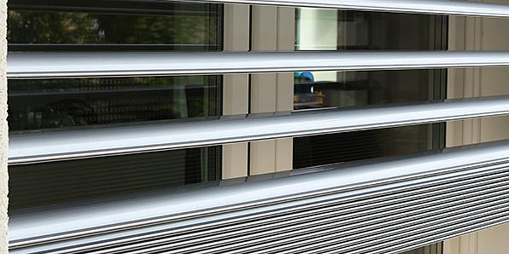 Frangisole per finestre in alluminio